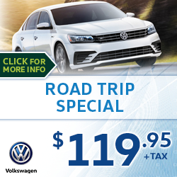 Click to save with our Volkswagen Road Trip Service Special in Houston, TX