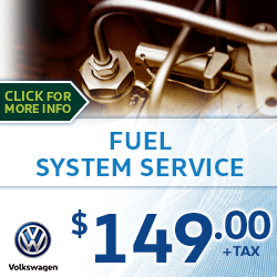 Click to view our Fuel System Service Special at Archer Volkswagen in Houston, TX