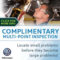 Click to view our Free Multipoint Inspection Service Special at Archer Volkswagen in Houston, TX