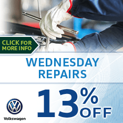 Click to view our Wednesday Service Special at Archer Volkswagen in Houston, TX