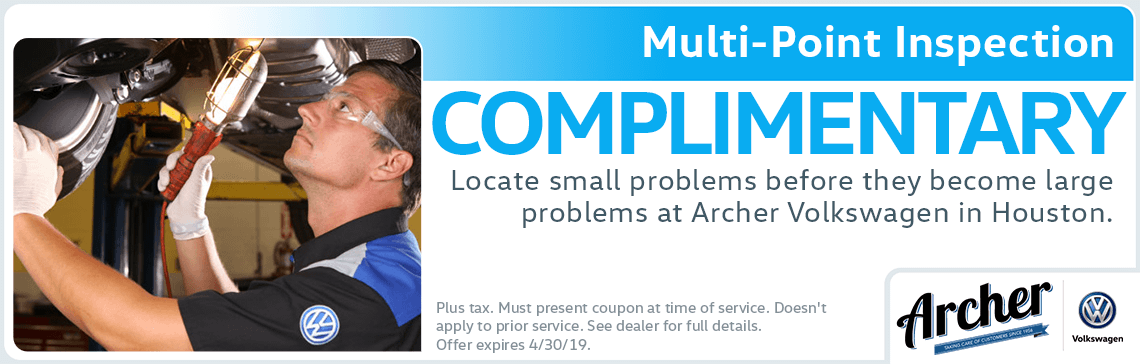 Volkswagen Service Coupons | Multi-Point Inspection | Houston, TX