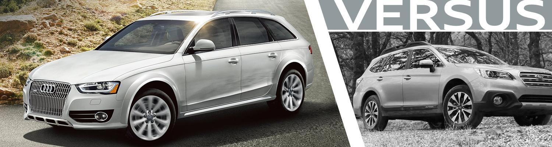 Compare 2016 Audi allroad vs Subaru Outback