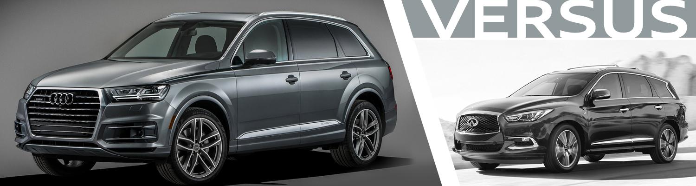 2017 Audi Q7 VS 2017 Infiniti QX60 Model Comparison in Normal, IL