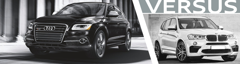 Audi SQ Vs BMW X Model Comparison Normal IL - Audi q5 vs bmw x5