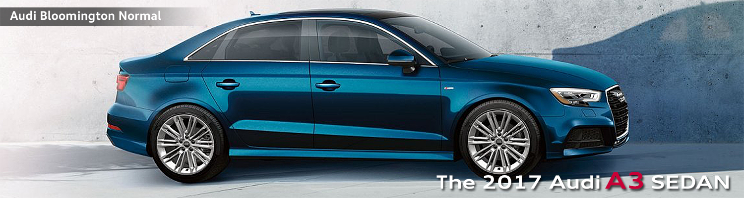 2017 Audi A3 model features, specs and information