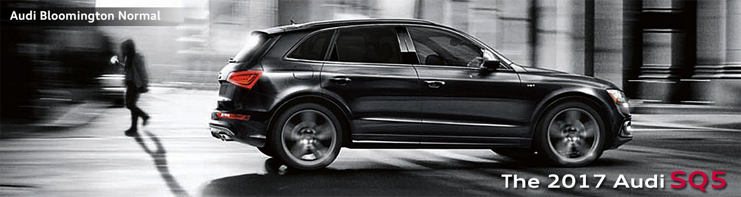 2017 Audi SQ5 Model Information in Bloomington-Normal, IL