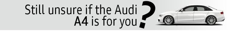 Still not sold on the Audi A4?