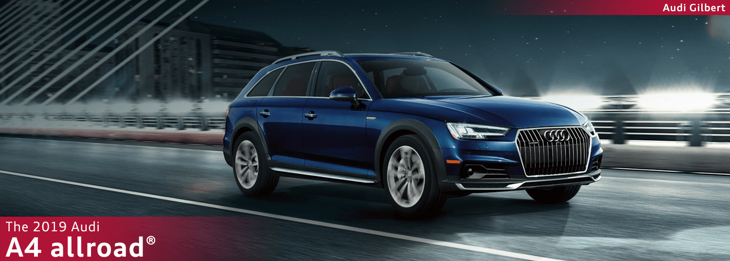 All Terrain Family Wagon Meet The 2019 Audi A4 Allroad With