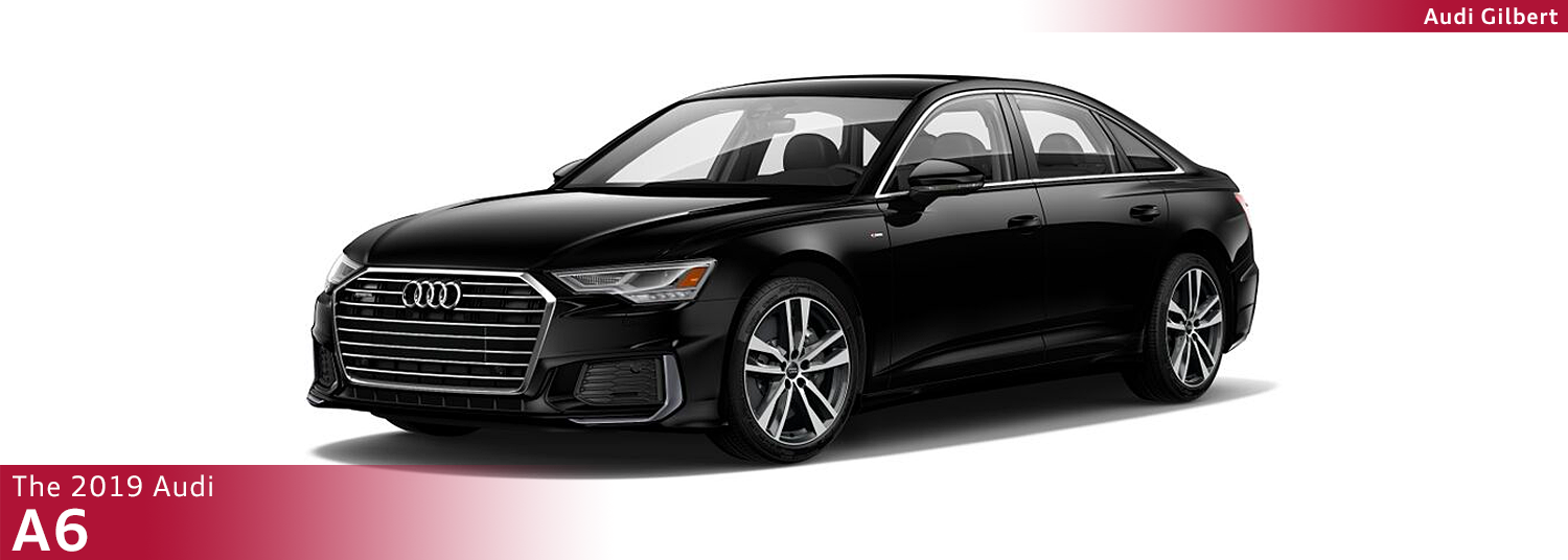 Review The New 2019 Audi A6 Model Information then schedule a test drive at Audi Gilbert