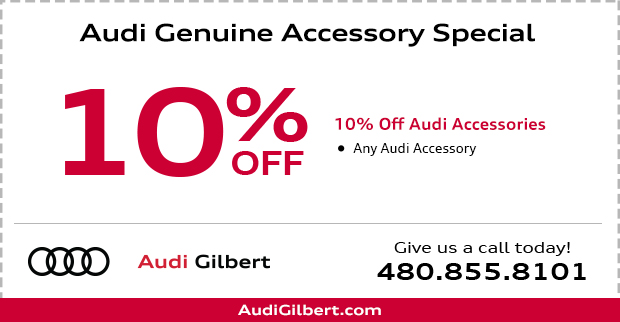 Audi Genuine Accessory Special in Gilbert, AZ