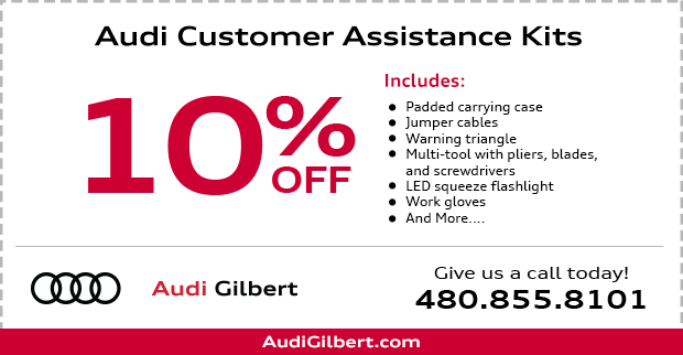 Audi Customer Assistance Kits Special in Gilbert, AZ