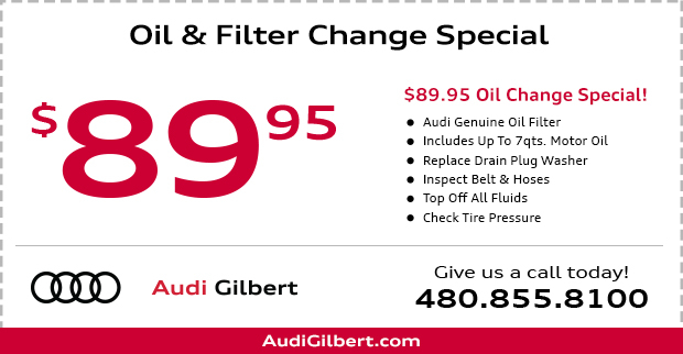 Oil and Filter Change Service Special in Gilbert, AZ
