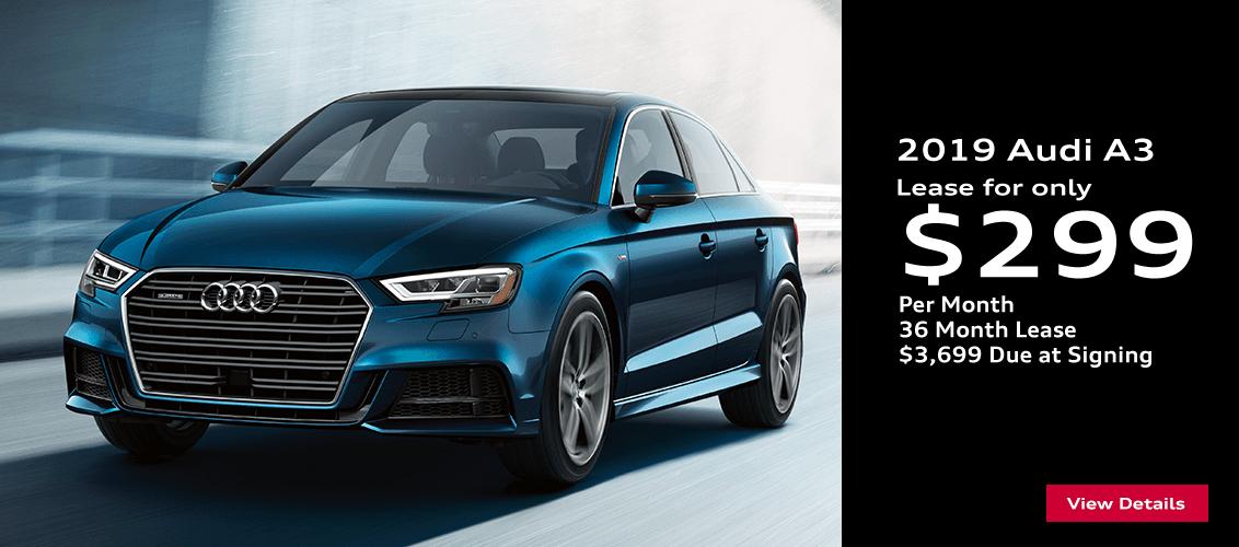 Save this month on this 2019 Audi A3 with this special lease offer serving Phoenix, AZ