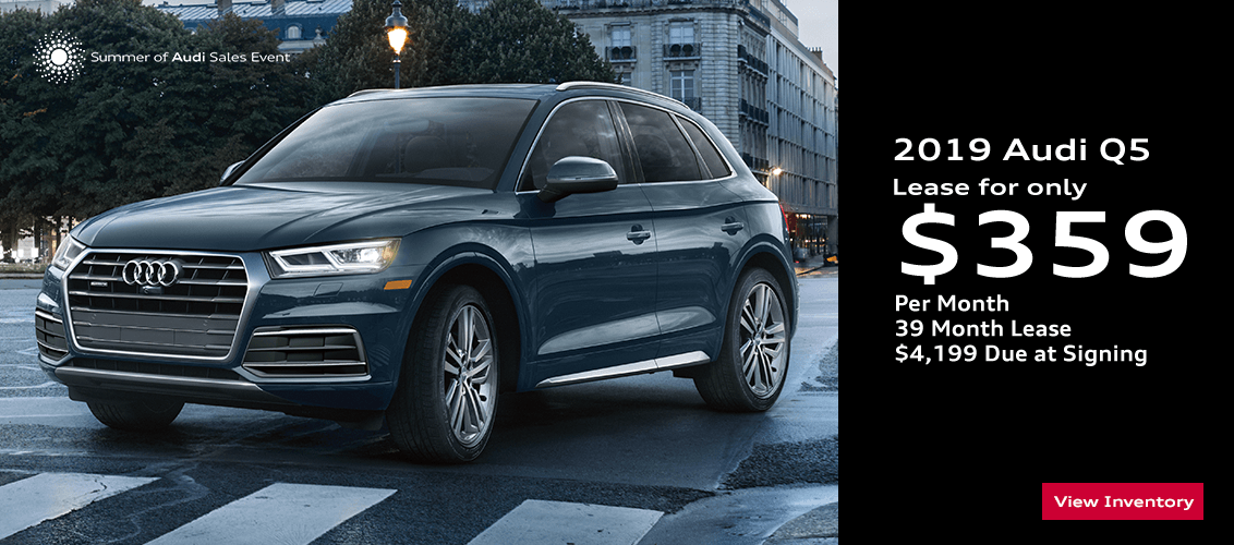 2019 Audi Q5 low payment lease special serving Phoenix, AZ