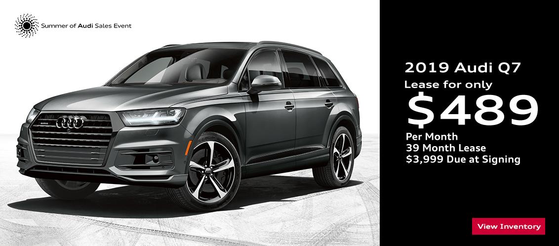 Audi Q7 Lease >> 2019 Audi Q7 Specials In Gilbert Az