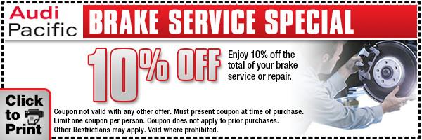Audi service discount coupons