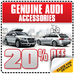 Audi Genuine Accessory Special Discount Savings serving Hermosa Beach & Torrance, CA