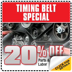 Audi Timing Belt Service Special Serving Manhattan Beach, CA