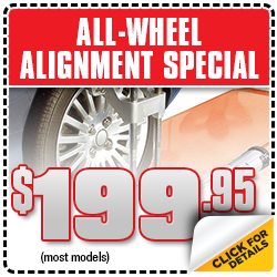 Audi All Wheel Alignment Repair Service Special in Torrance, CA
