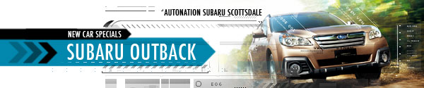 New Subaru Outback Special Offers serving Phoenix & Scottsdale, AZ