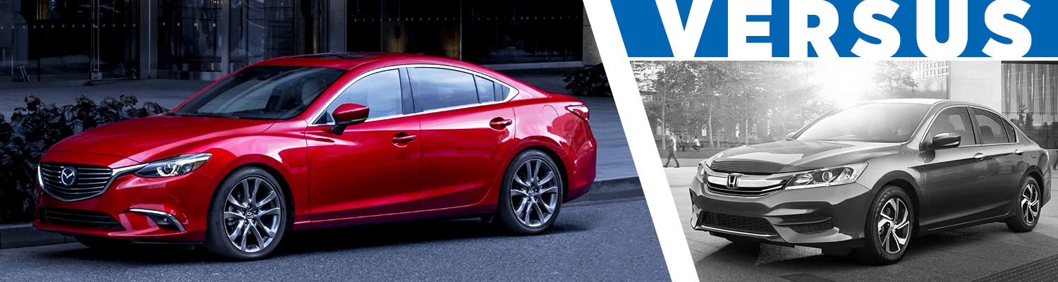 Compare 2017 Mazda6 Vs 2017 Honda Accord
