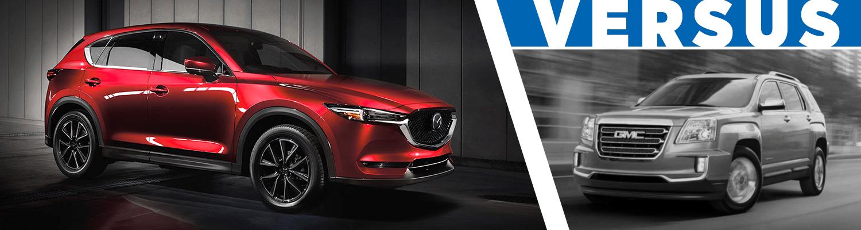 Compare 2017 Mazda CX 5 Vs 2017 GMC Terrain
