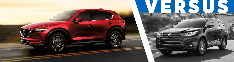 2018 Mazda CX 5 VS 2018 Toyota Highlander Comparison In Butler, PA
