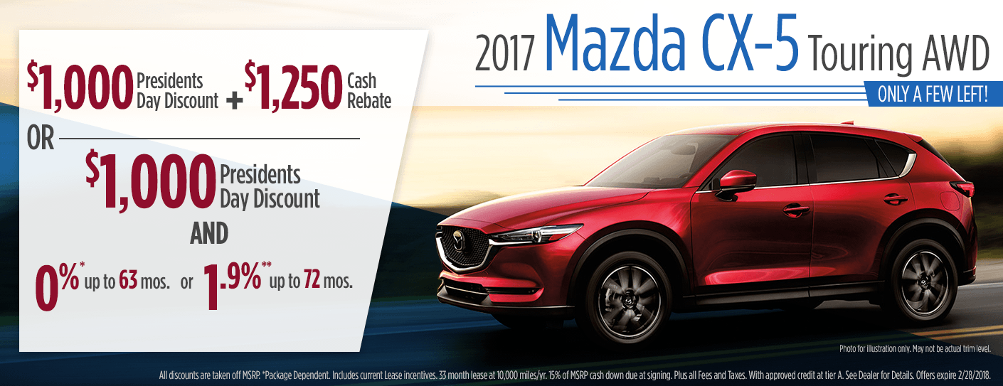 Mazda CX Purchase Lease Specials Butler PA - Mazda cx 5 lease specials