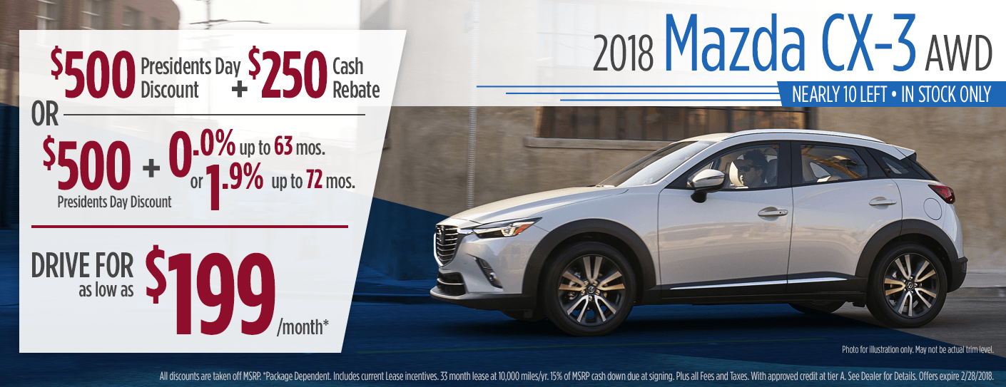 Mazda CX Purchase Lease Specials Butler PA - Mazda lease offer