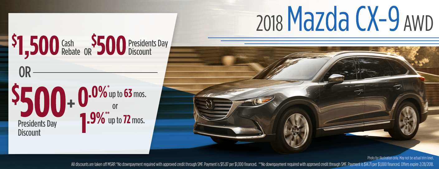 New Mazda CX Special Purchase Lease Savings Offers Butler PA - Mazda lease offer