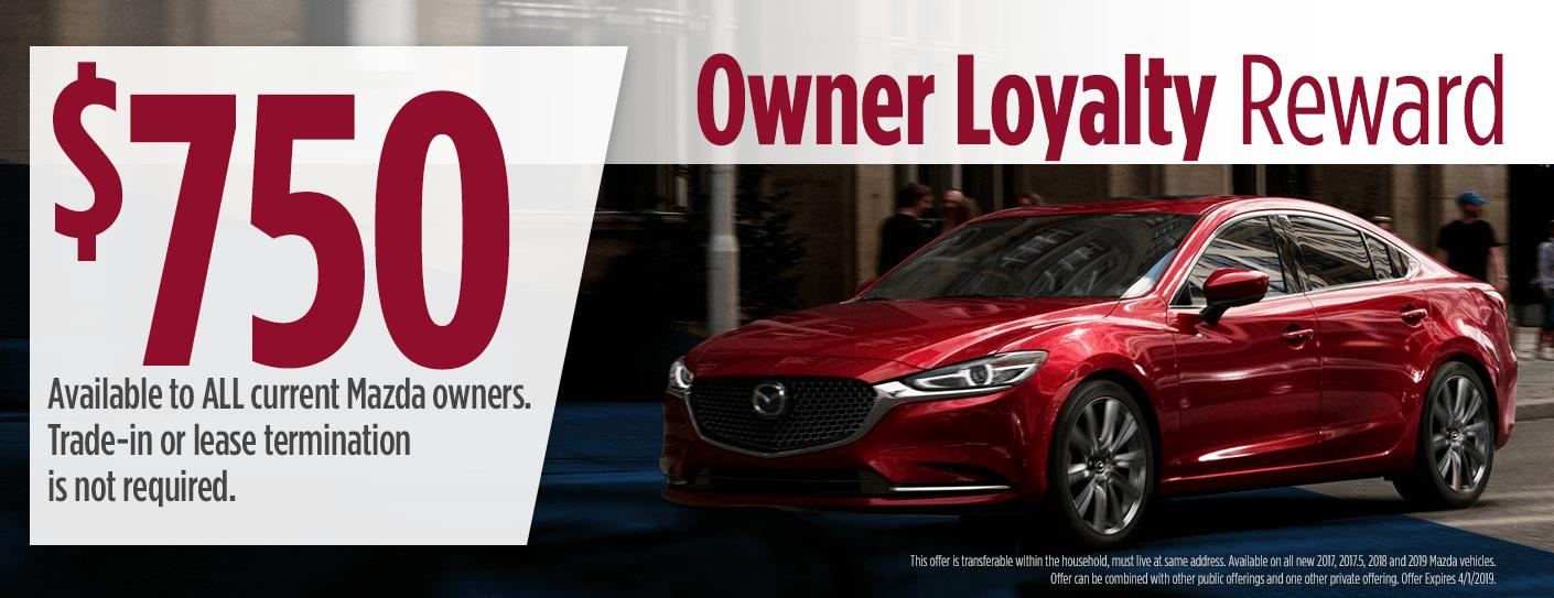 Mazda6 Trade In Loyalty Bonus Current Mazda6 Owners Save 500 More