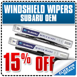 Subaru OEM Wiper Blades on sale at Barber Subaru in Ventura, California