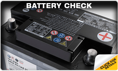 Click to research our Volkswagen Battery Check service in Omaha, NE