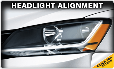 Click to learn about our headlight alignment service at Baxter Volkswagen Westroads in Omaha, NE