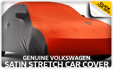 Click to view Volkswagen satin car cover parts information in Omaha, NE