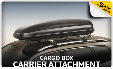 Learn more about the Genuine Volkswagen Cargo Box Carrier Attachment at Baxter Volkswagen Westroads serving Omaha, NE