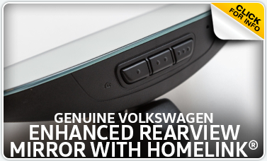Learn more about the VW rearview mirror with HomeLink available for purchase at Baxter VW Westroads