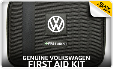 Learn more about the VW first aid kit available for purchase at Baxter VW Westroads