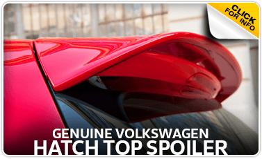 Learn more about the Genuine Volkswagen Hatch Top Spoiler at Baxter Volkswagen Westroads serving Omaha, NE