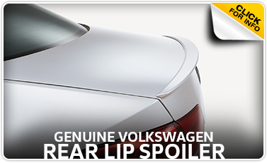 Click to learn more about genuine Volkswagen rear lip spoiler in Omaha, NE