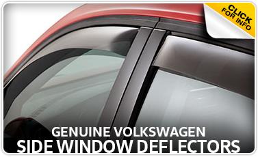 Learn more about the Genuine Volkswagen Side Window Deflectors at Baxter Volkswagen Westroads serving Omaha, NE