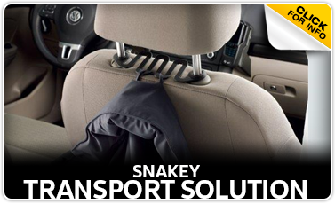 Learn more about the Genuine Volkswagen Snakey Transport Solution at Baxter Volkswagen Westroads serving Omaha, NE