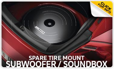 Learn more about the Genuine Volkswagen Spare Tire Mount Subwoofer & Soundbox at Baxter Volkswagen Westroads serving Omaha, NE