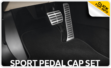 Click to view our sport pedal cap set parts information at Baxter Volkswagen Westroads in Omaha, NE