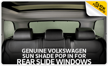 Click to view our sunshade for rear windows parts information at Baxter Volkswagen Westroads in Omaha, NE