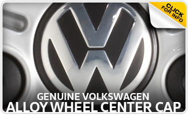 Click to learn more about genuine Volkswagen alloy wheel center cap in Omaha, NE