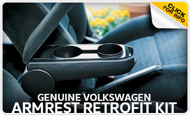 Click to learn more about genuine Volkswagen armrest retrofit kit in Omaha, NE