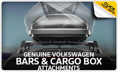 Click to learn more about genuine Volkswagen cargo box attachment in Omaha, NE