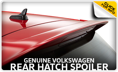 Learn more about getting a genuine Volkswagen rear hatch spoiler