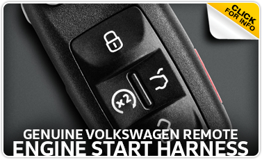 Click to view our Volkswagen remote engine start harness parts information in La Vista, NE